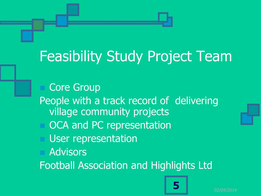 Feasibility Study Project Team