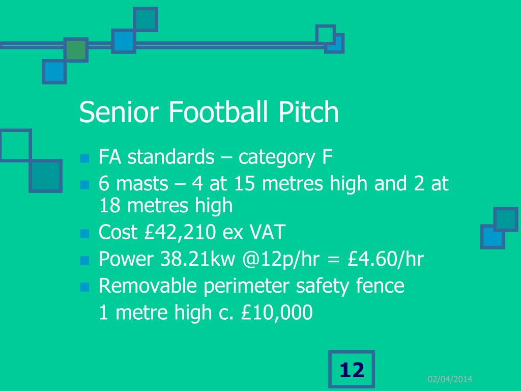 Senior Football Pitch
