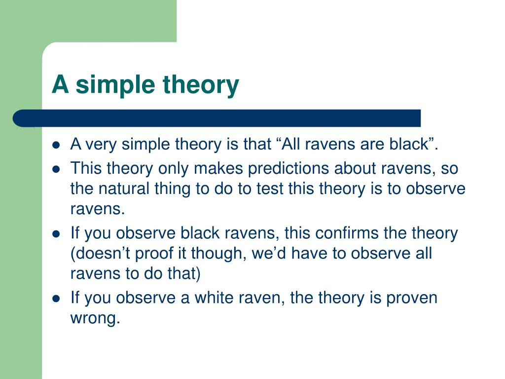 A simple theory
