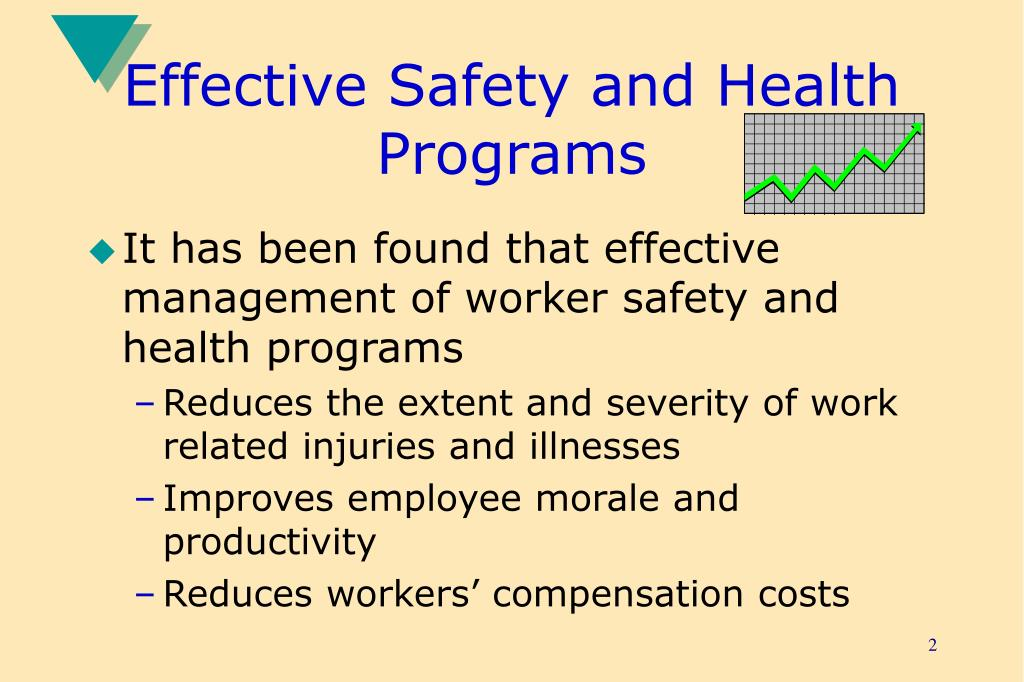 Effective Safety and Health Programs