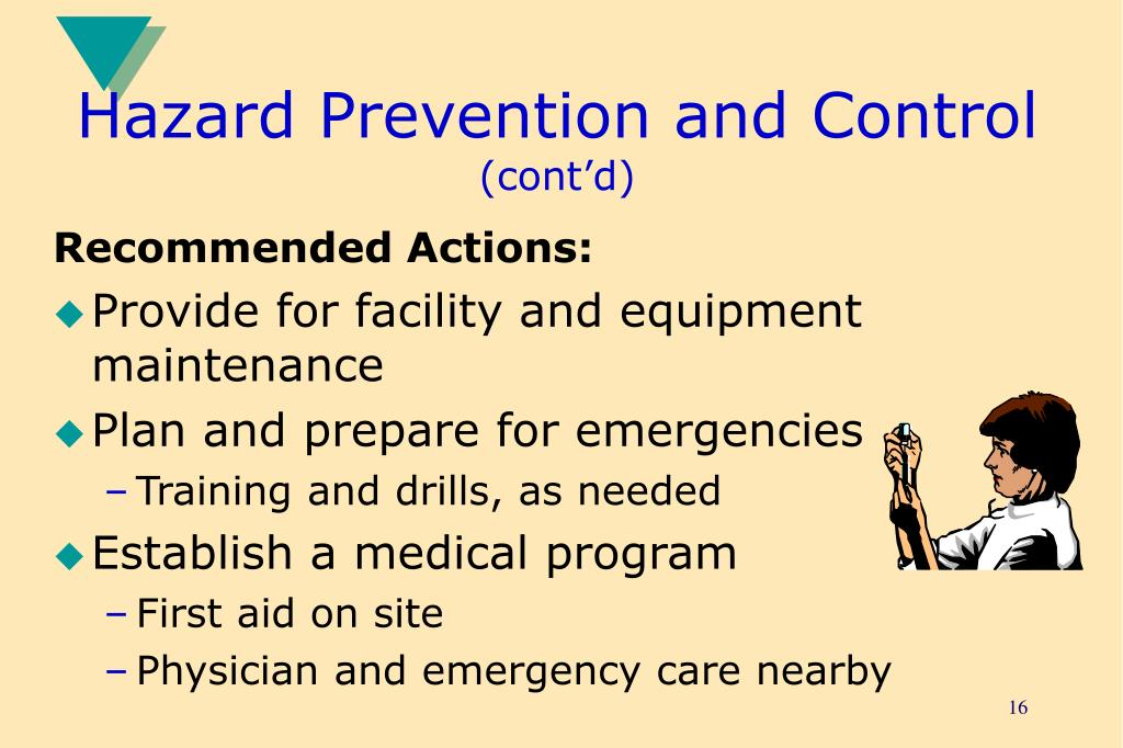 Hazard Prevention and Control