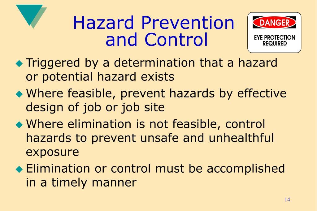 Hazard Prevention
