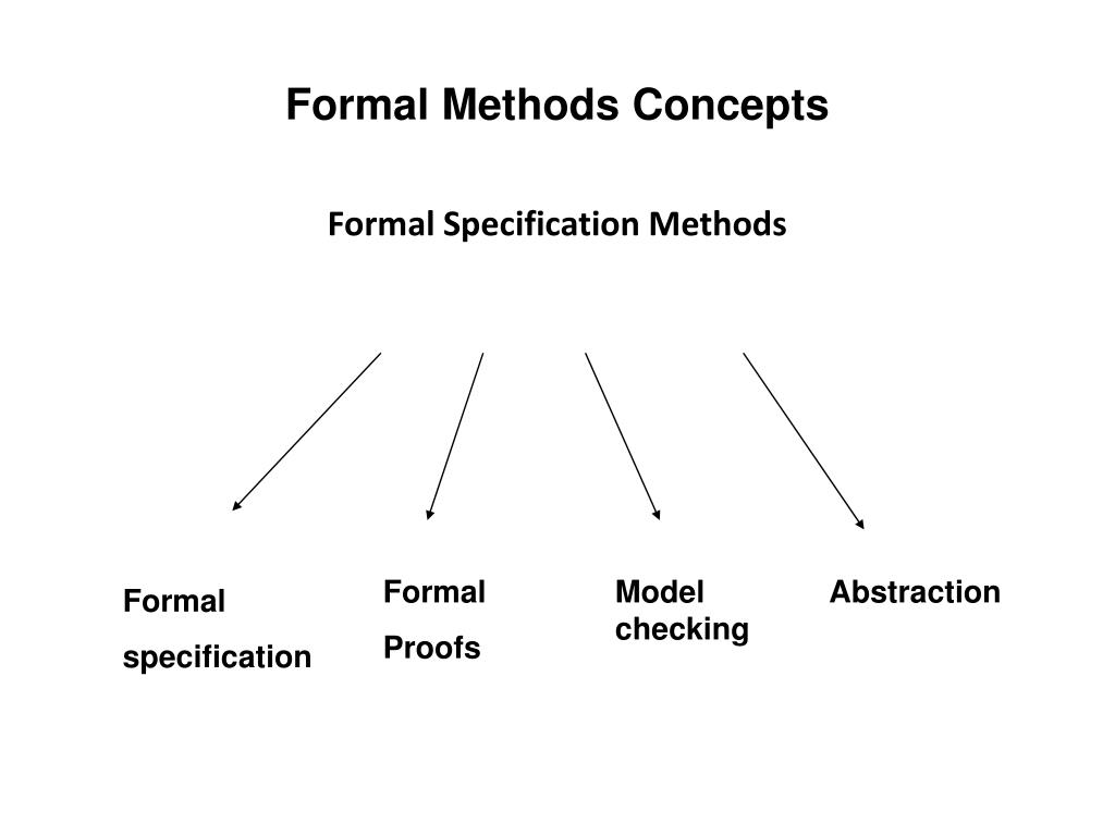 Formal Methods Concepts