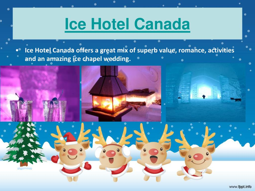 Ice Hotel Canada