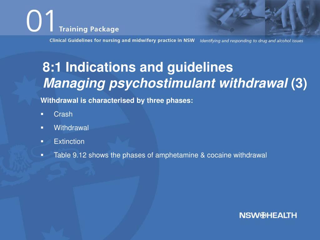 8:1 Indications and guidelines