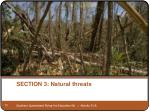 section 3 natural threats