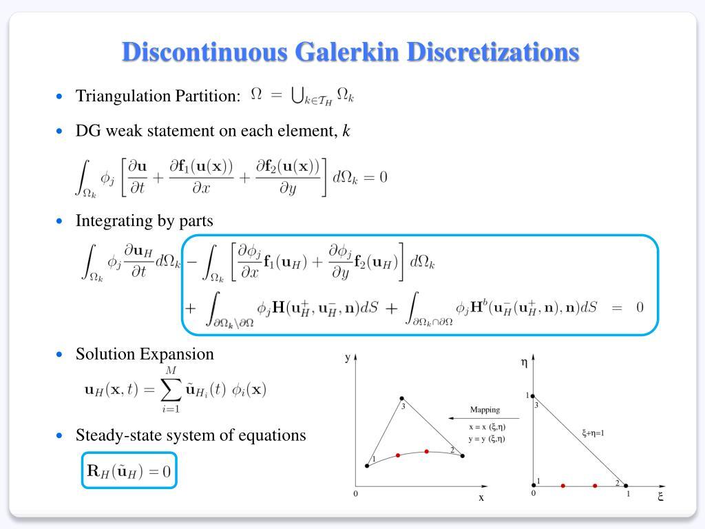 Discontinuous Galerkin Discretizations
