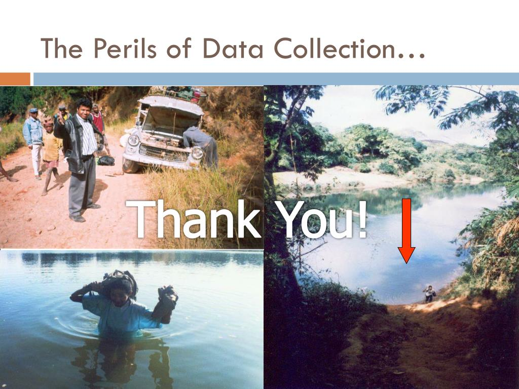 The Perils of Data Collection…