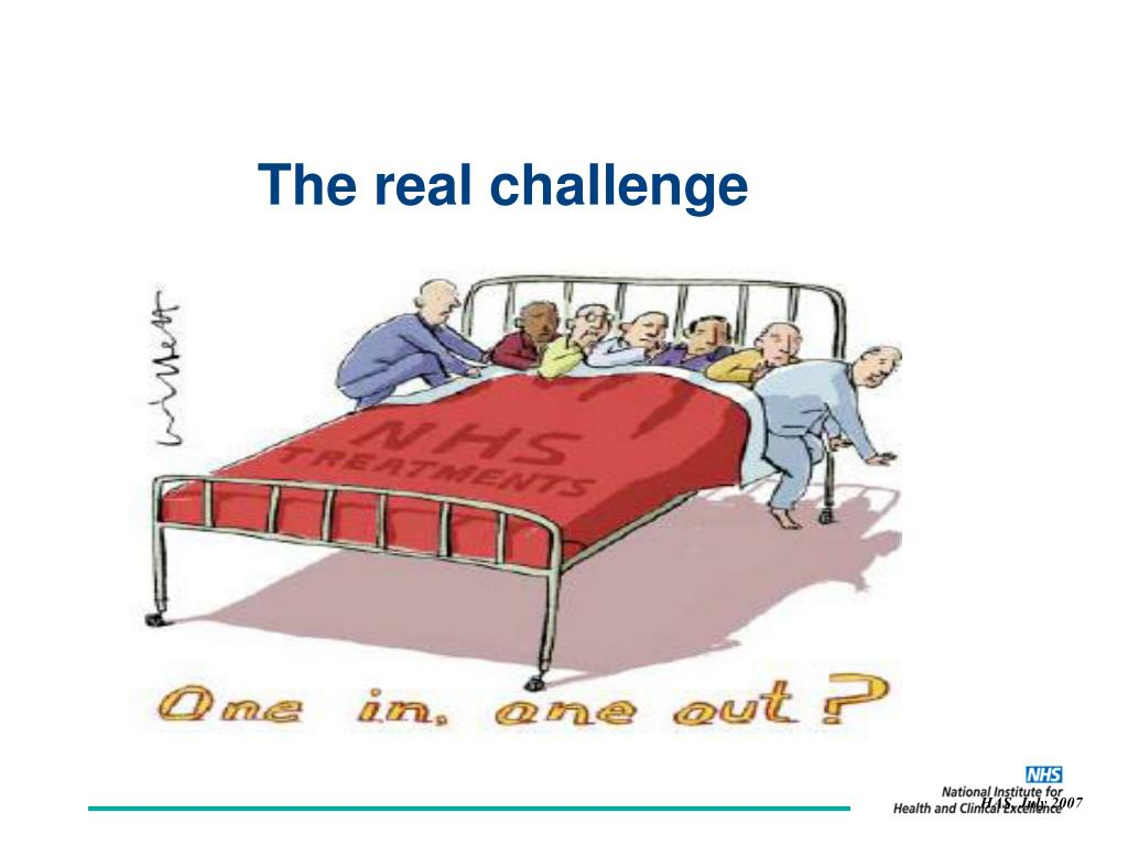 The real challenge