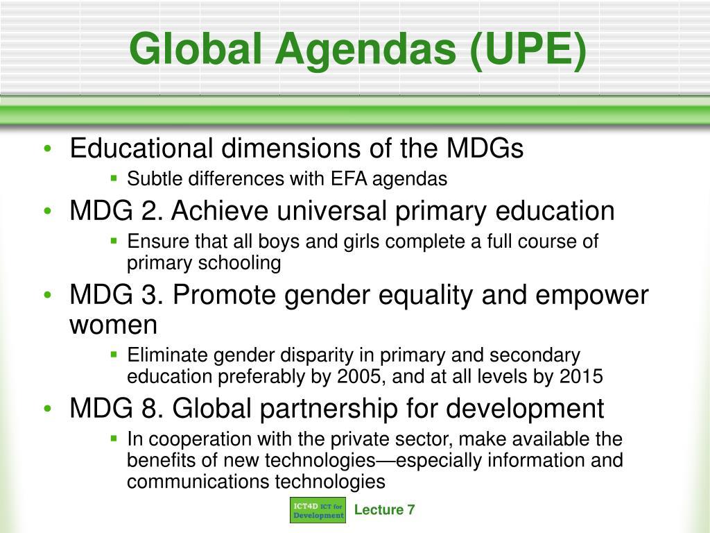 Global Agendas (UPE)