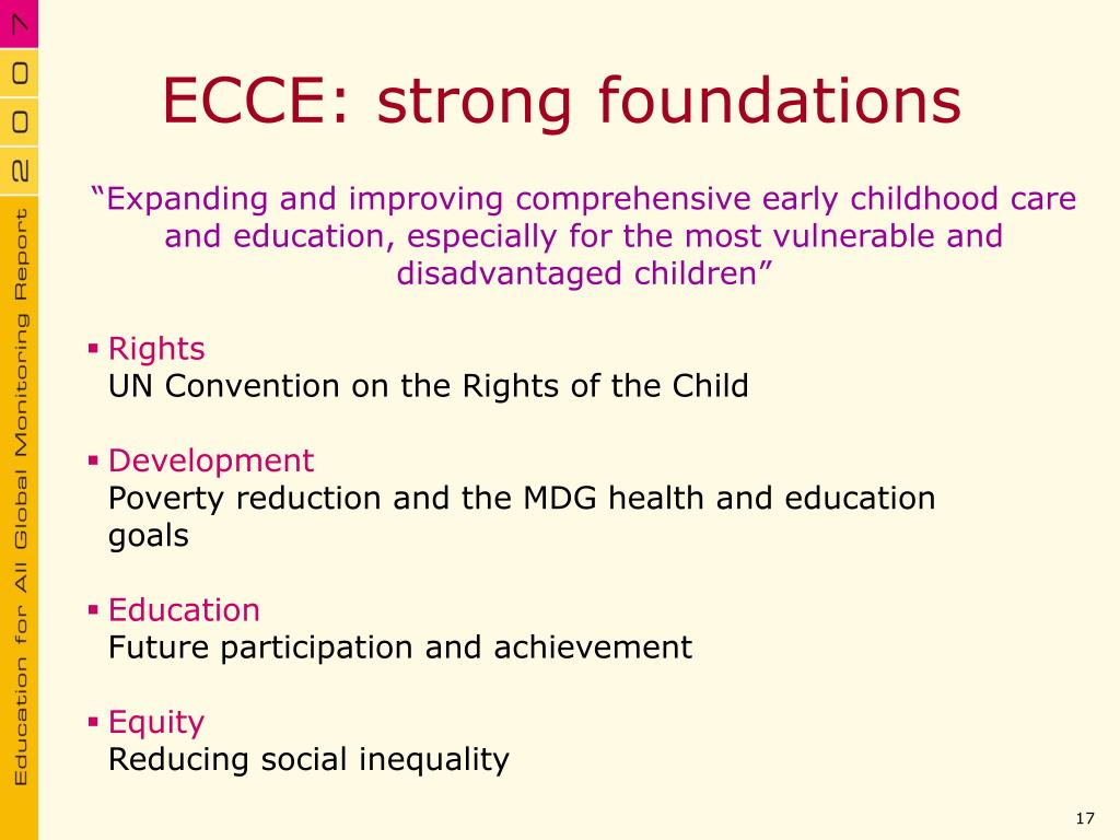 ECCE: strong foundations