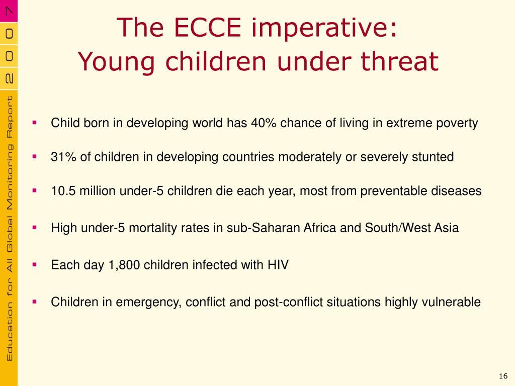 The ECCE imperative: