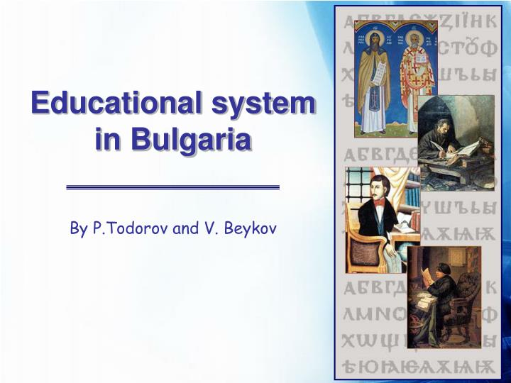 Educational system in bulgaria