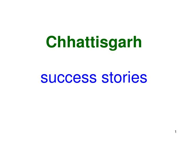 Success stories l.jpg
