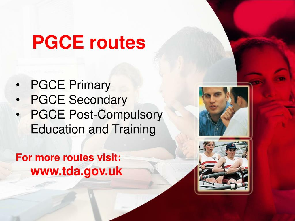 PGCE routes