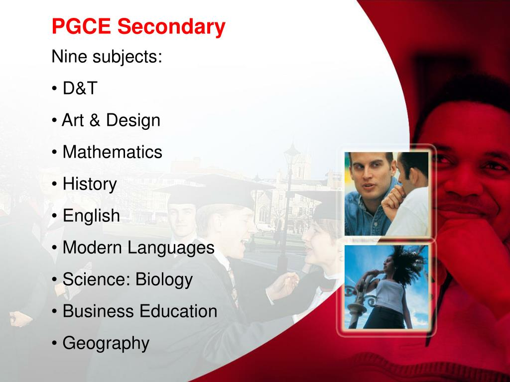PGCE Secondary