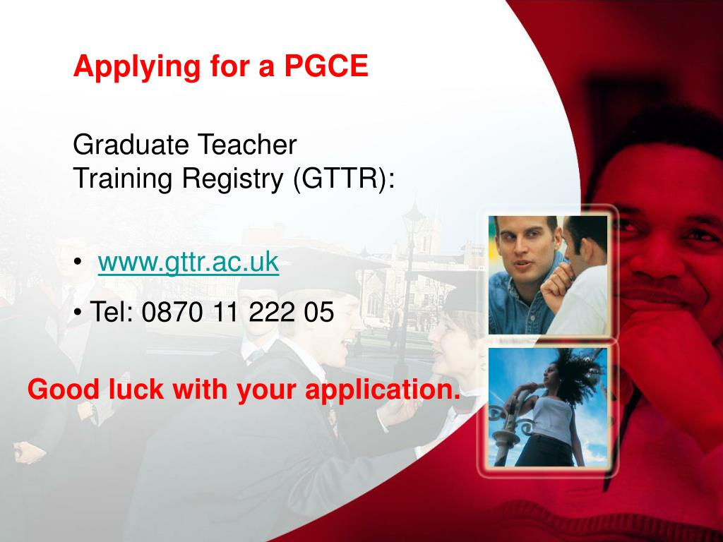 Applying for a PGCE