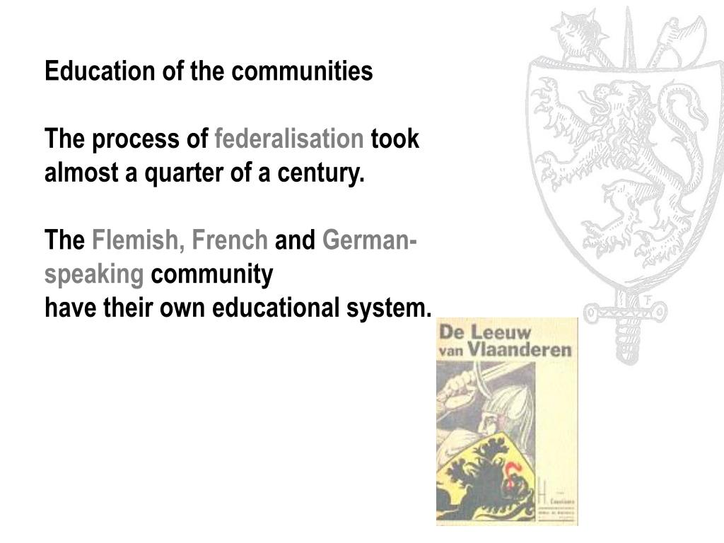 Education of the communities