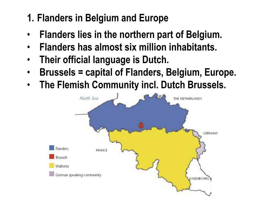 Flanders in Belgium and Europe