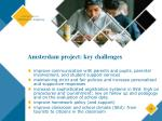 amsterdam project key challenges11
