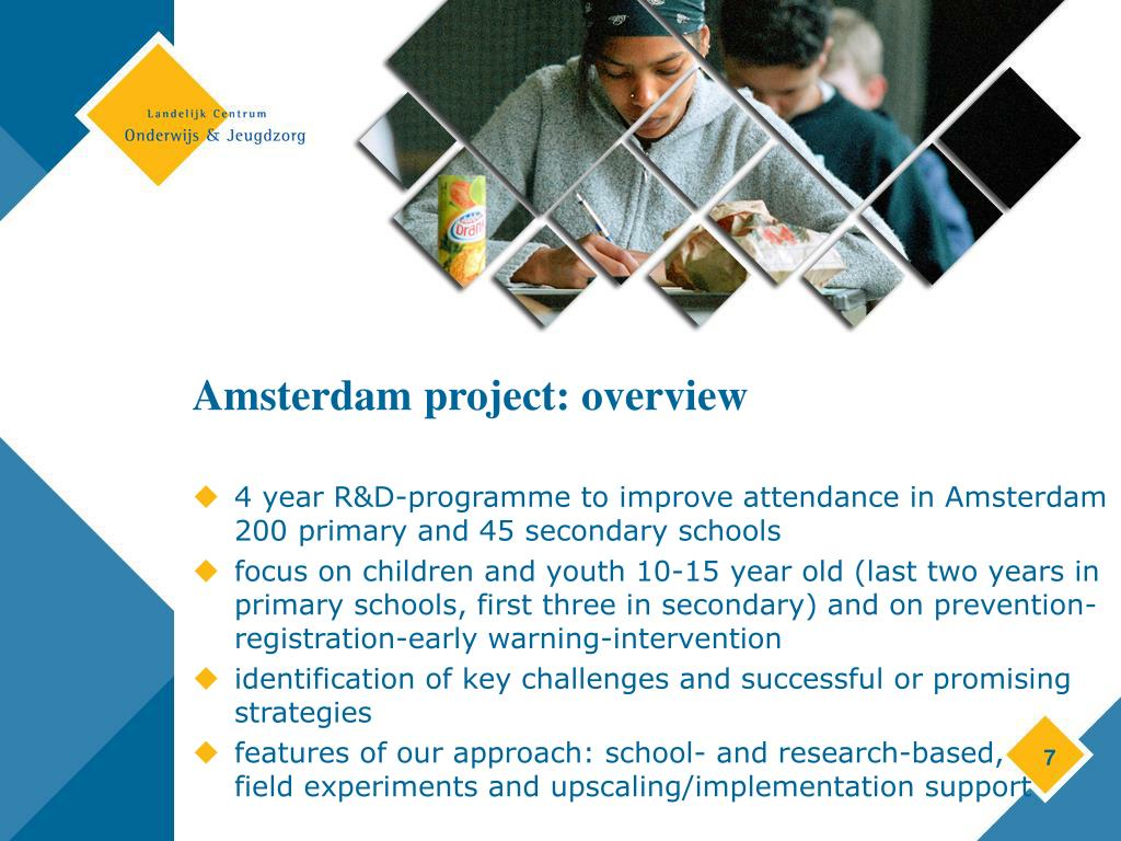 Amsterdam project: overview