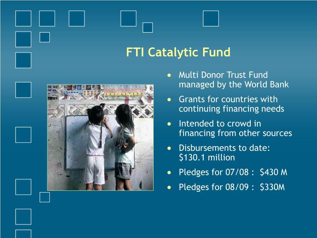 FTI Catalytic Fund