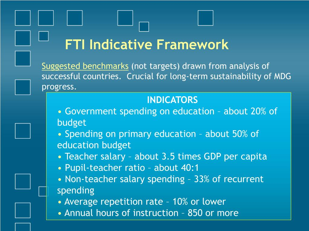 FTI Indicative Framework