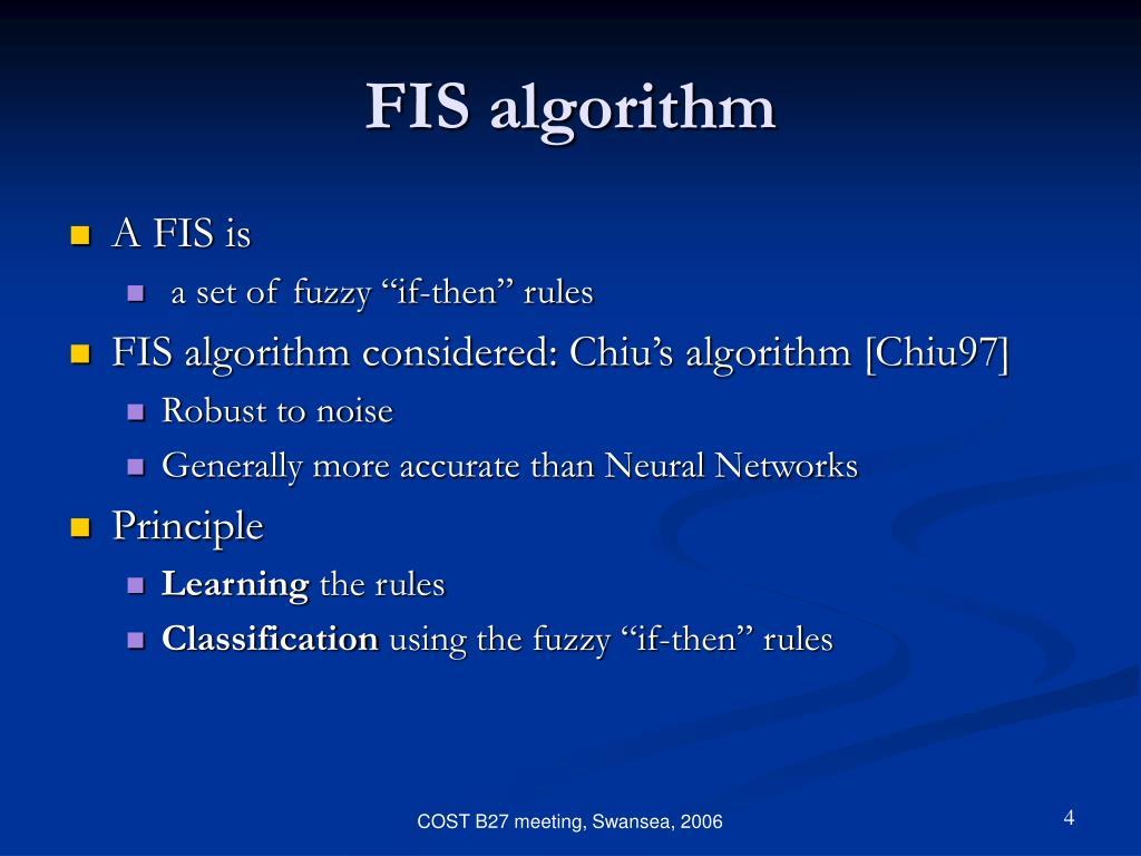 FIS algorithm