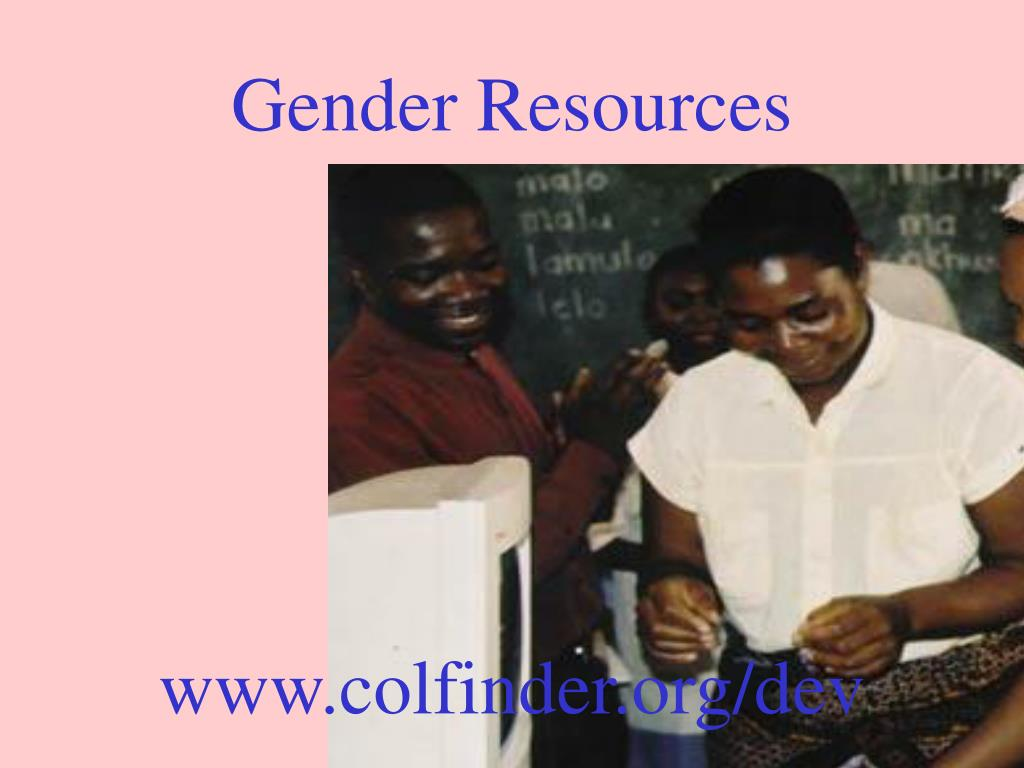 Gender Resources