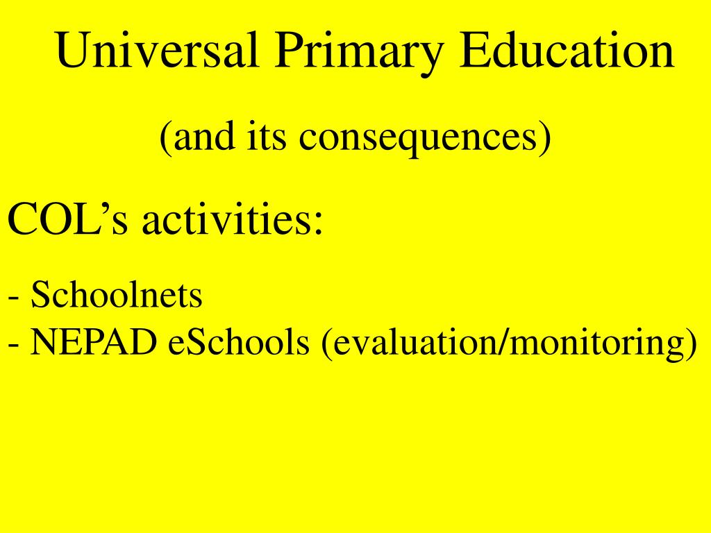 Universal Primary Education