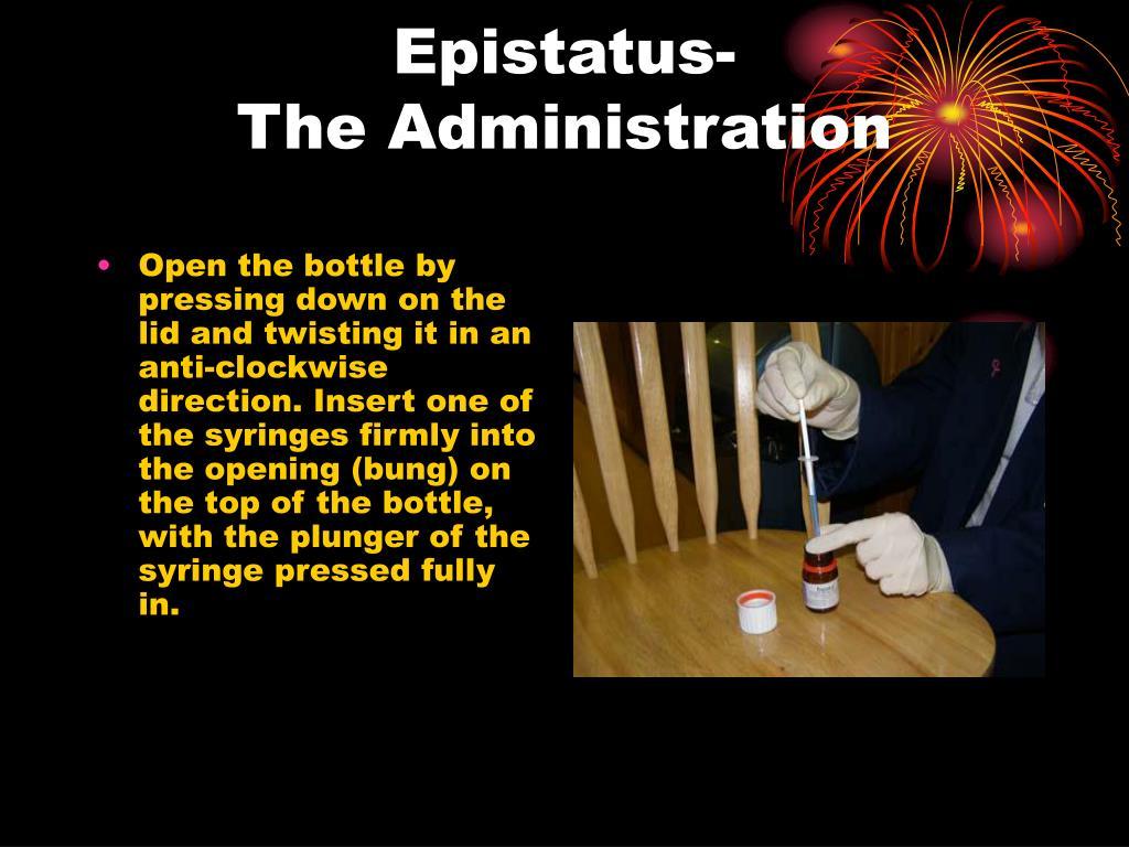 Epistatus-