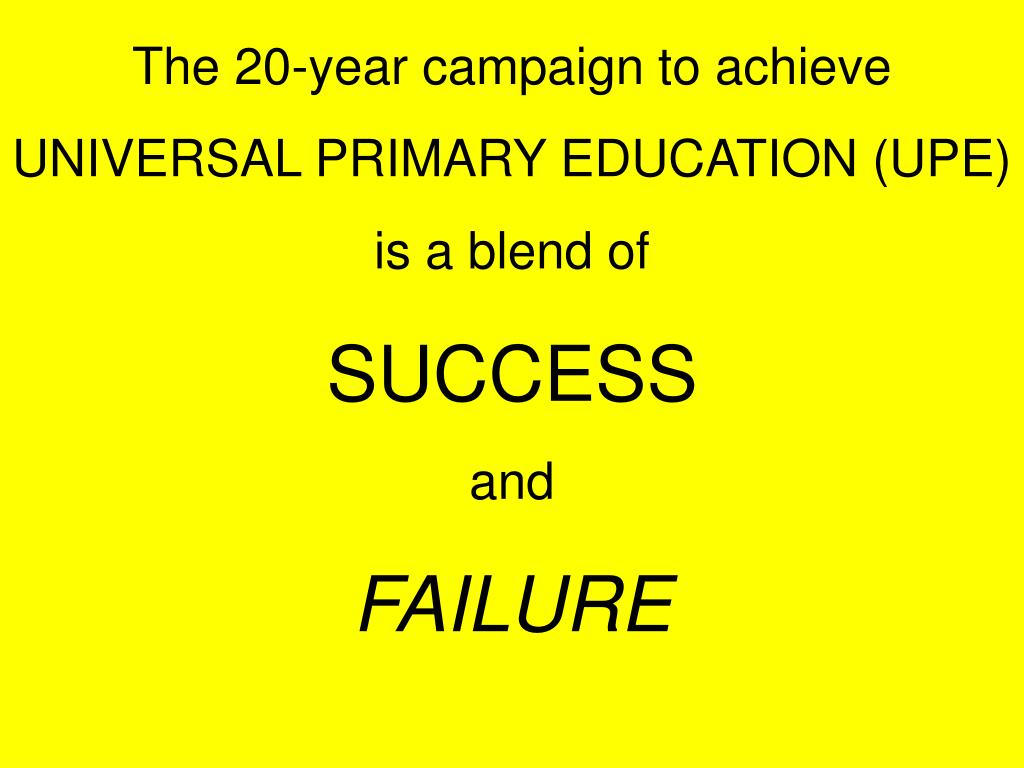 The 20-year campaign to achieve