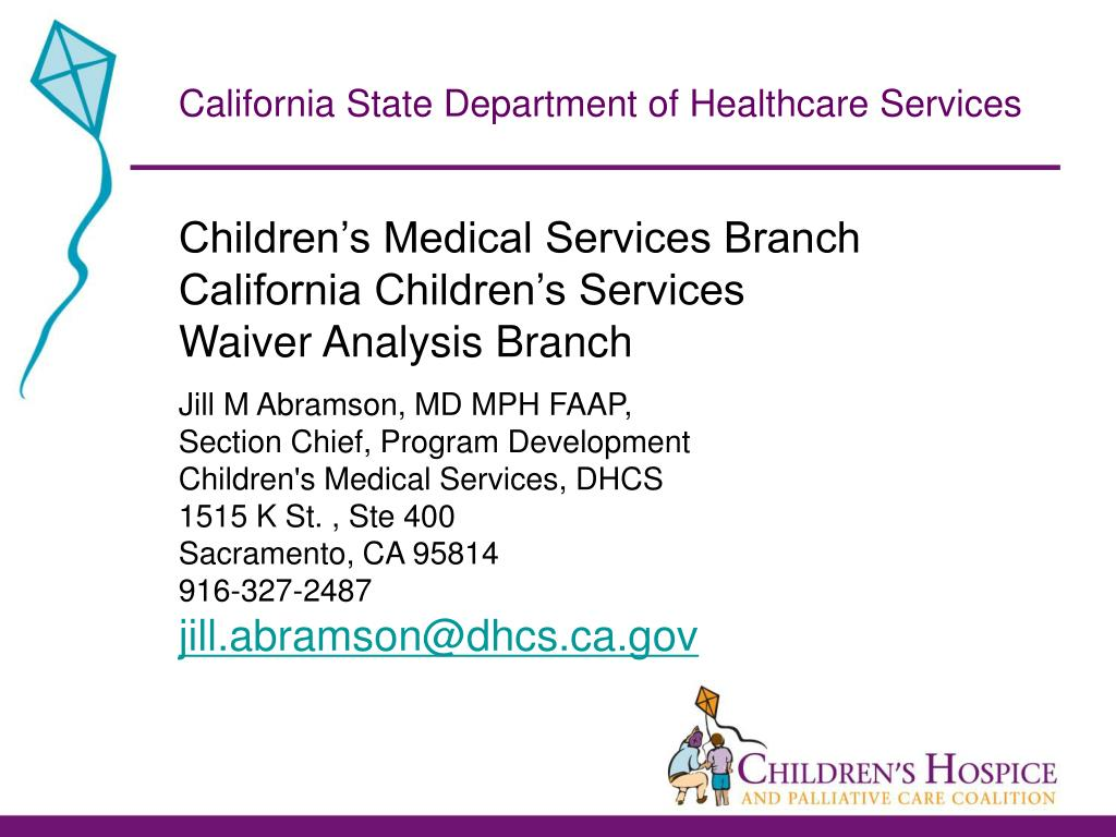 California State Department of Healthcare Services