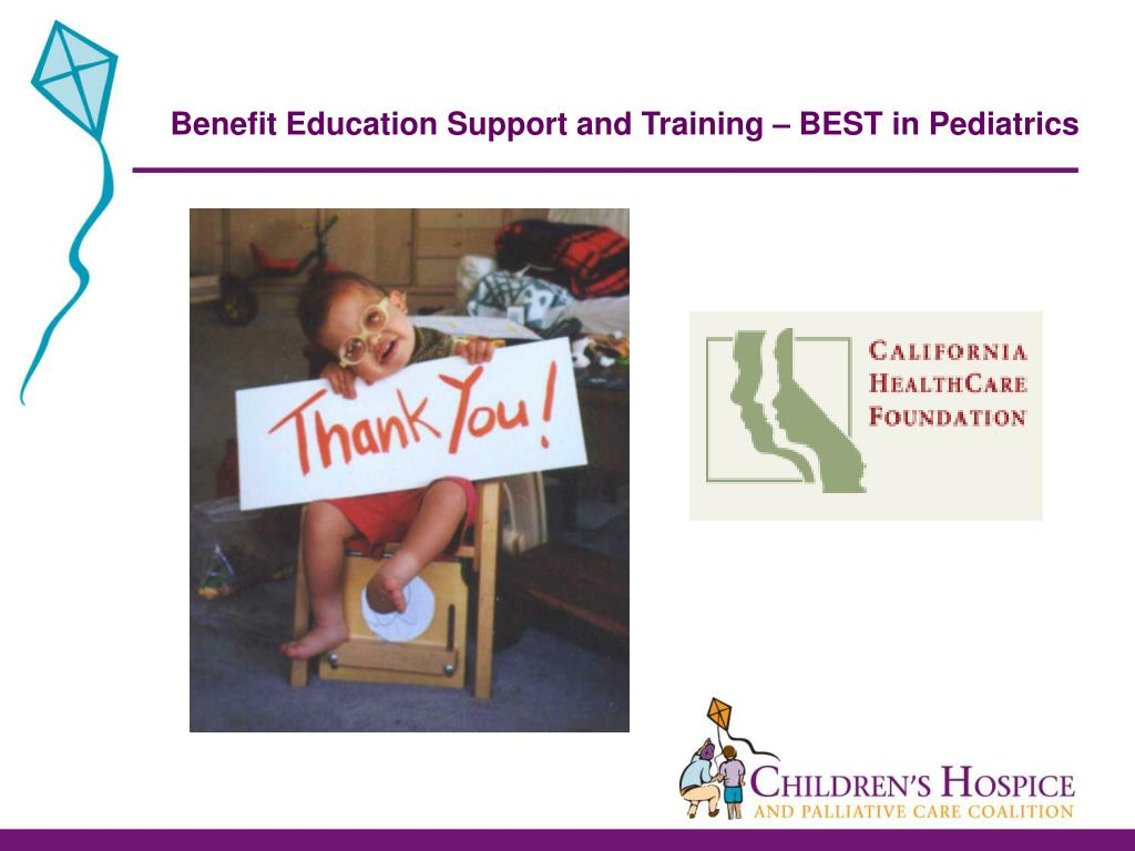 Benefit Education Support and Training – BEST in Pediatrics