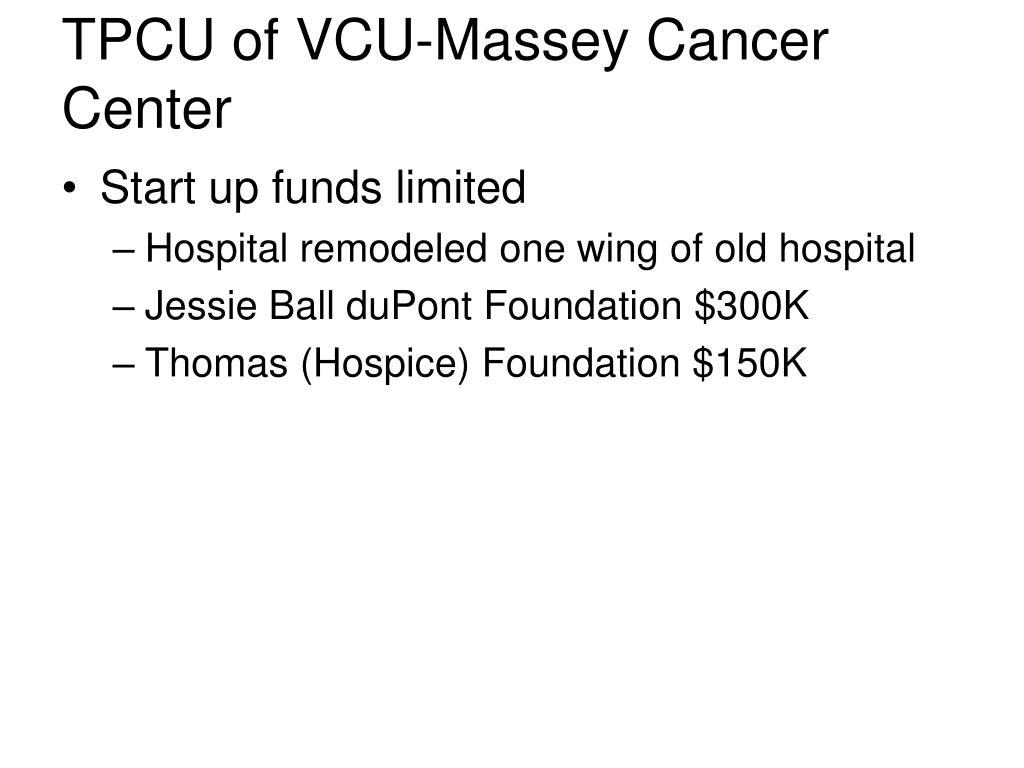 TPCU of VCU-Massey Cancer Center