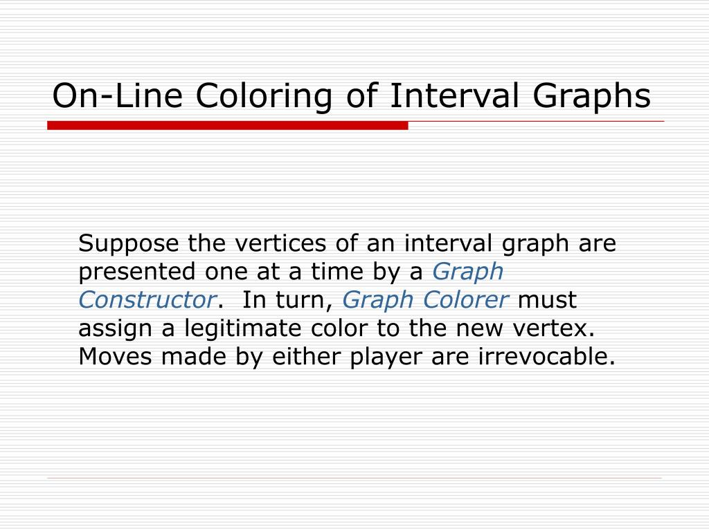 On-Line Coloring of Interval Graphs