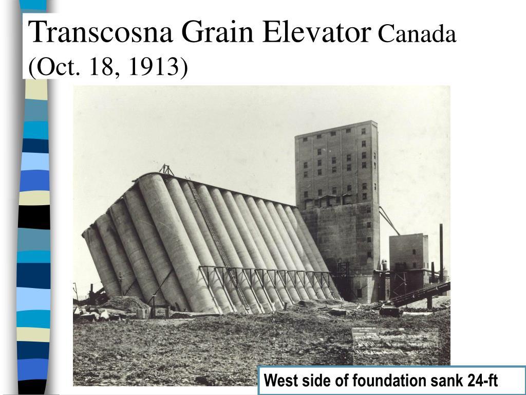 Transcosna Grain Elevator