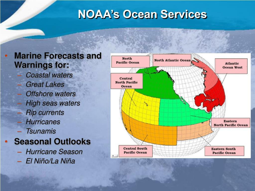 NOAA's Ocean Services