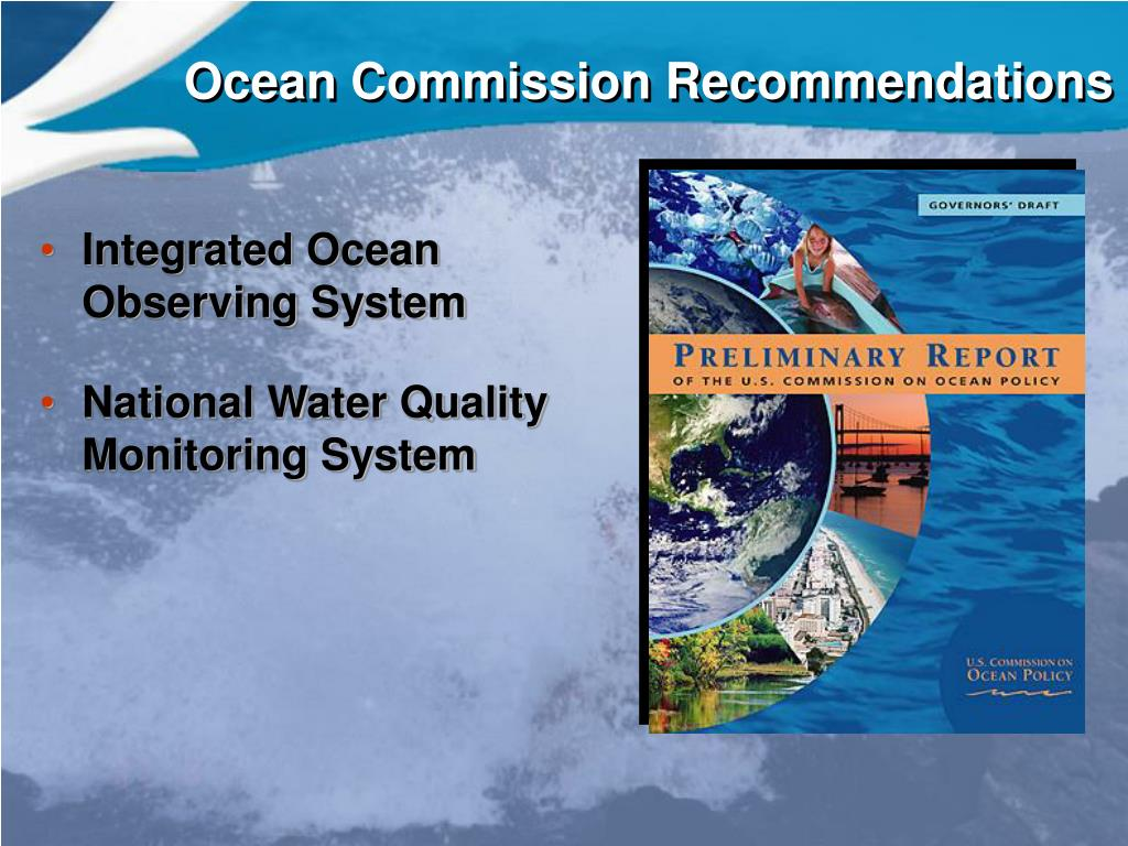 Ocean Commission Recommendations