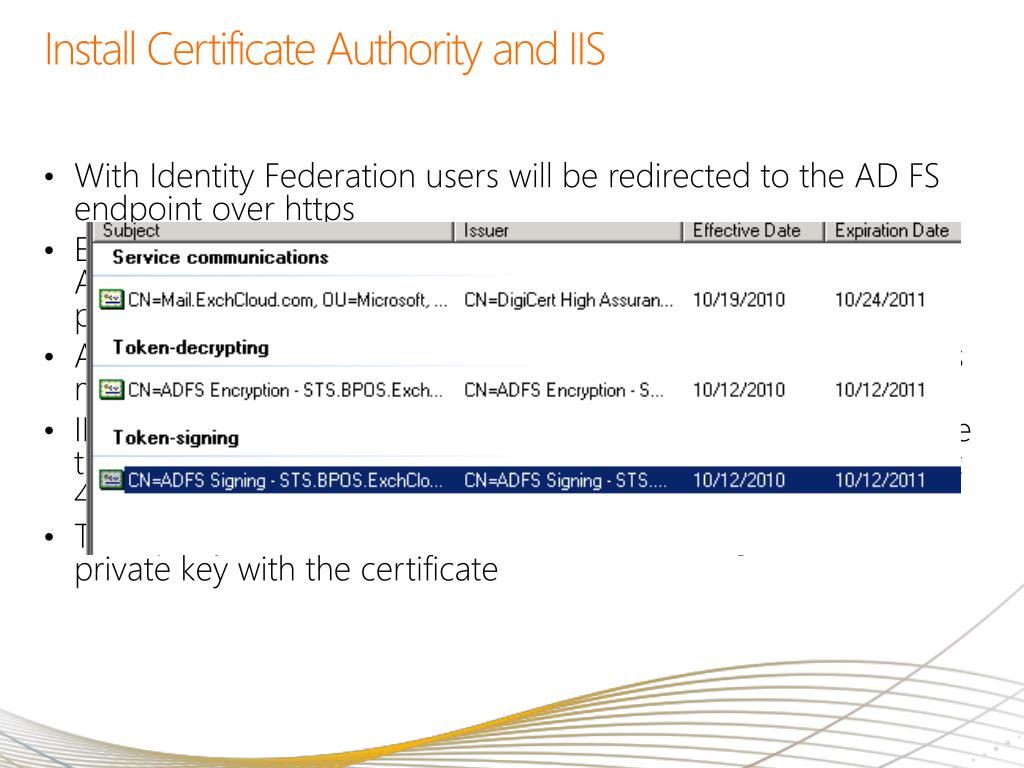 Install Certificate Authority