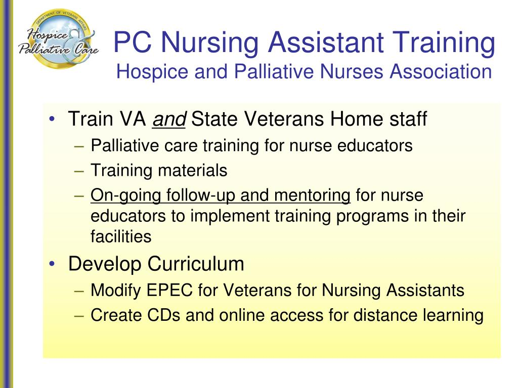 PC Nursing Assistant Training