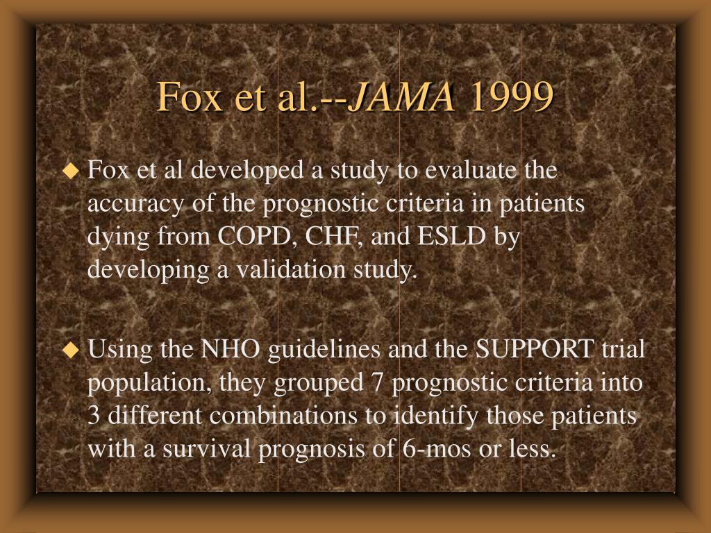 Fox et al.--
