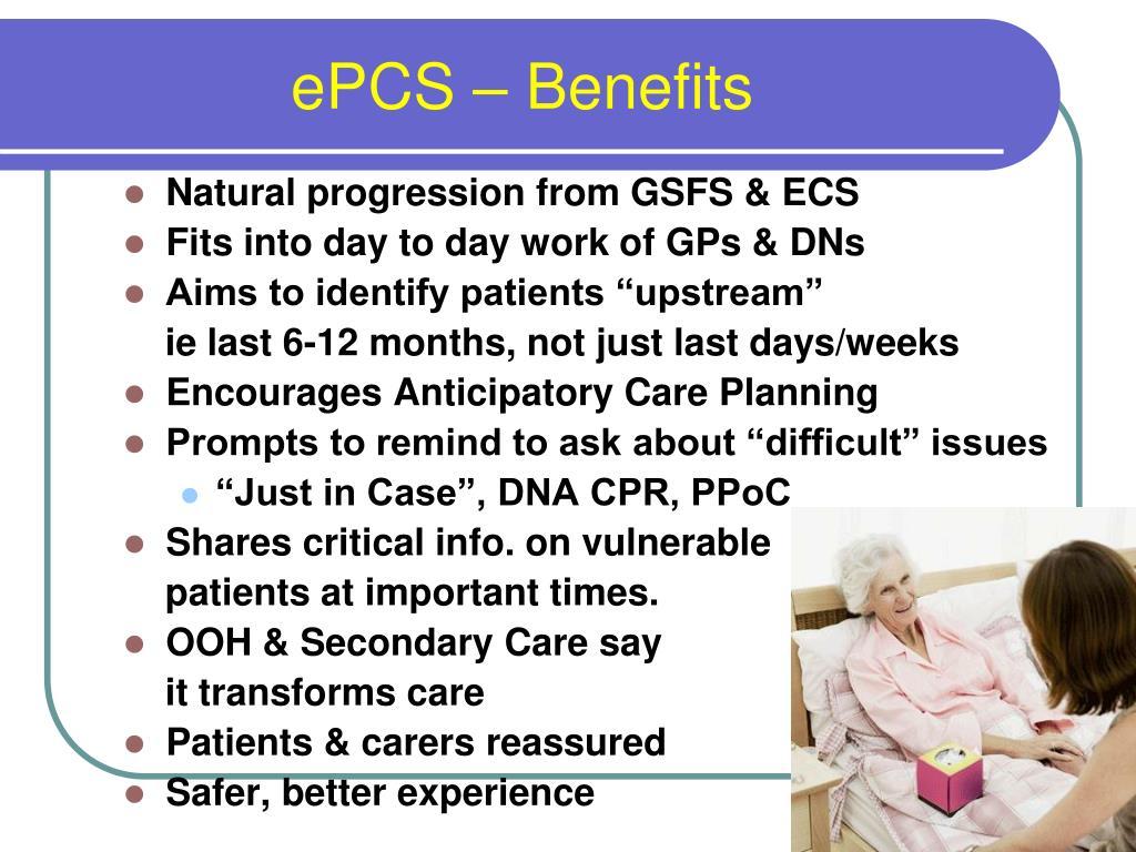 ePCS – Benefits