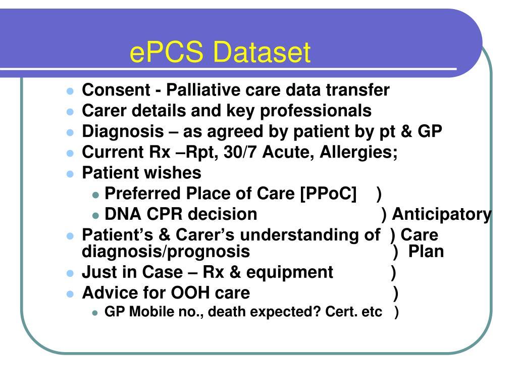 ePCS Dataset