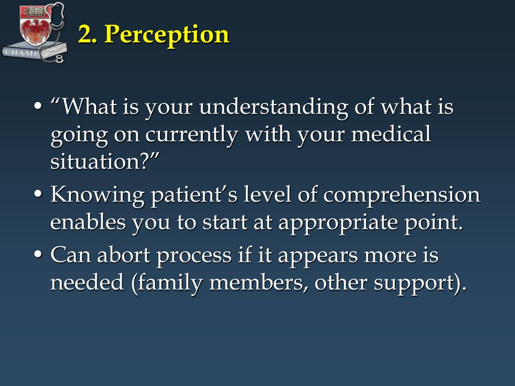 2. Perception
