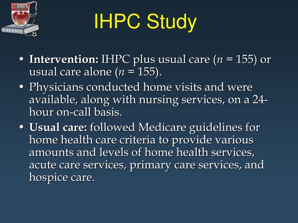 IHPC Study