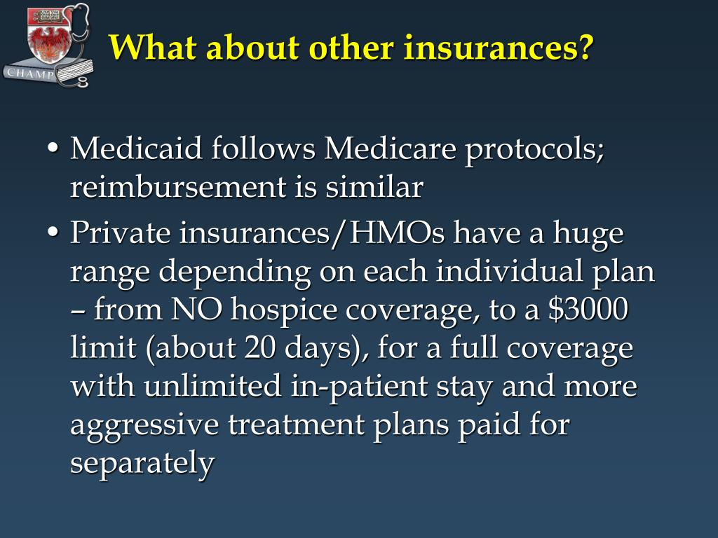 What about other insurances?
