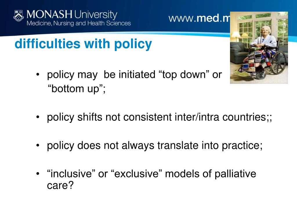 difficulties with policy