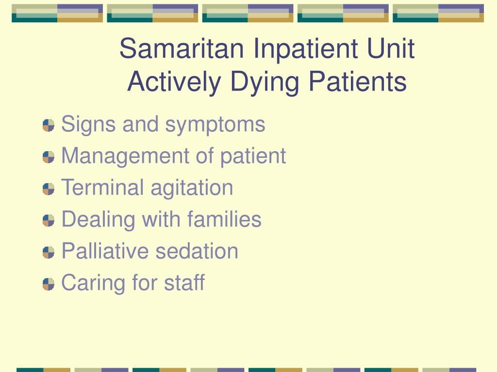 Samaritan Inpatient Unit