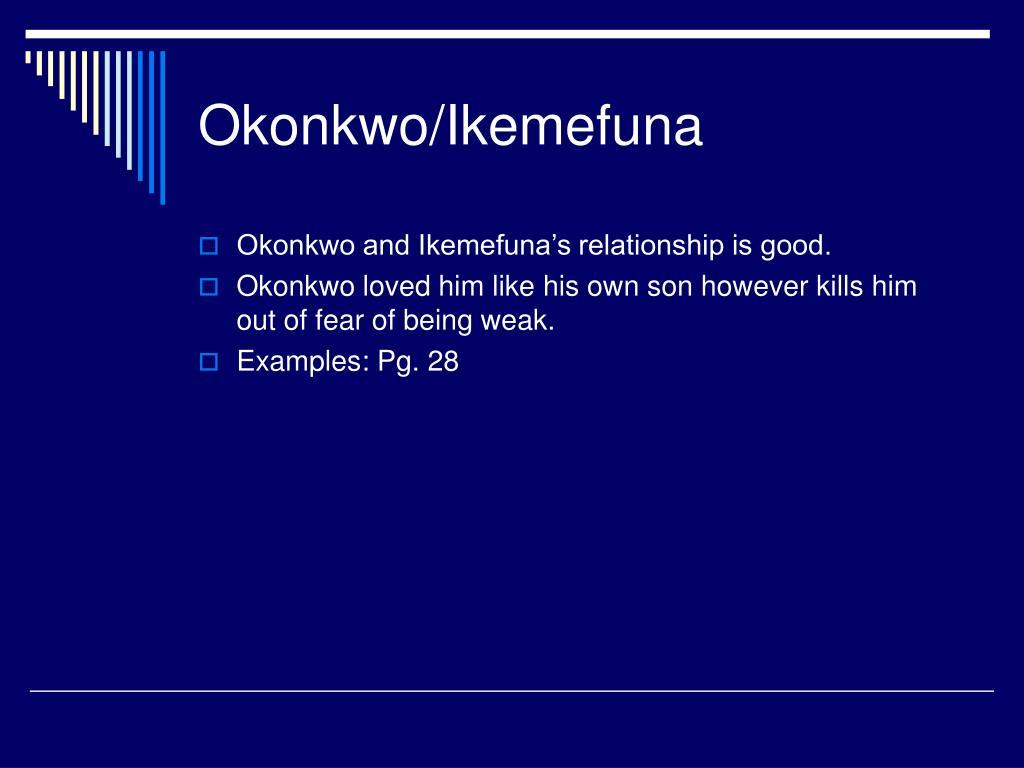 ikemefuna relationship to okonkwo and nwoye